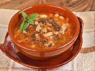 Постна супа от боб (боб чорба)